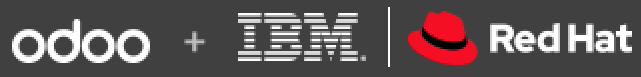odoo + ibm + redhat partnership